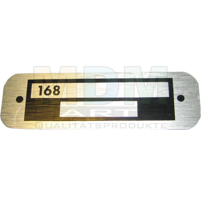 Badge 168 For Serial Number