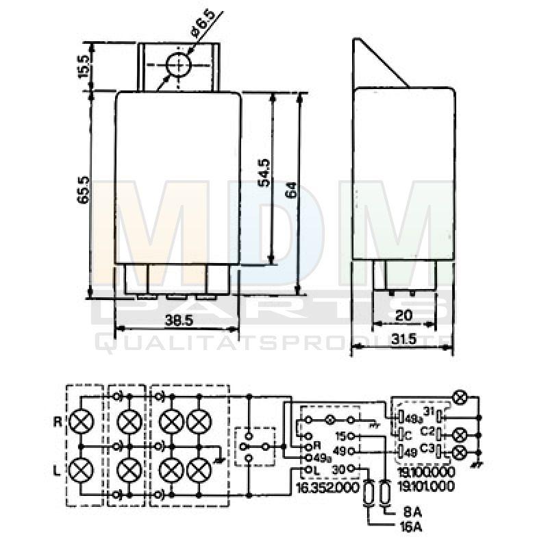 flasher unit john deere 4000 5000 6000. Black Bedroom Furniture Sets. Home Design Ideas
