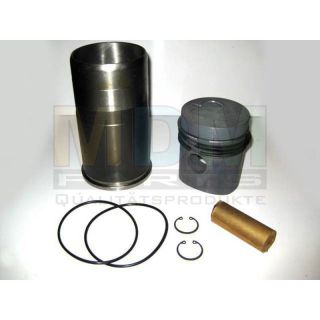 Piston with piston rings and Liner with o-rings Kitset NEW for Hanomag D100