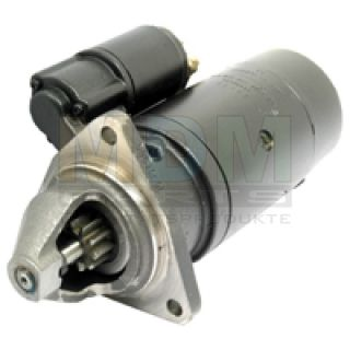 Starter for Belarus, 12V 3.0 KW (10er pinion), 3-hole flange, bell opening to the right of