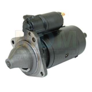 Starter for Renault, 12V 3.0 KW (9th pinion), 3-hole flange, bell opening to the left of