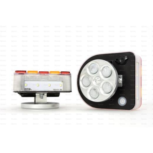 Trailer lighting 12V / 24V wireless with accu