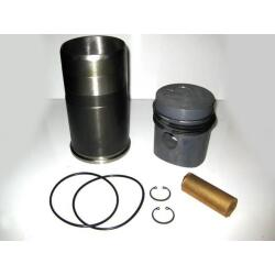 Piston with piston rings and Liner with o-rings Kitset...